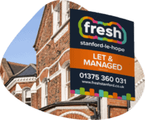 Fresh Property Estate agent sign
