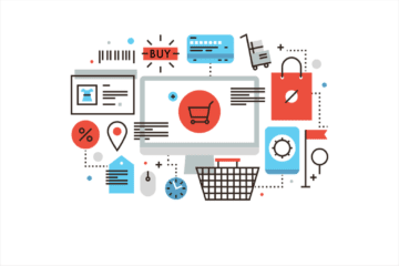 image depicting online checkout process